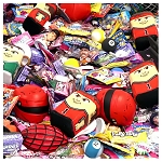 Super Sports Candy & Toy Crane Mix - 6,813 Count Case