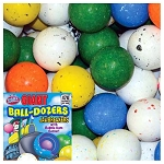 Giant BALL-DOZERS 2.25-inch Jawbreakers Candy w/Gum Center - 85 Count Case