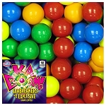 KABOOM 1-inch Multi-Colored Jawbreakers w/Candy Center - 850 Count Case