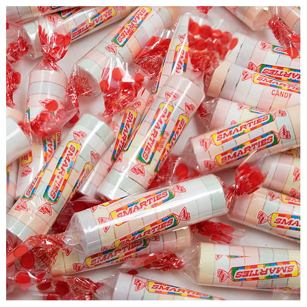 Smarties 10 Tablet Candy Rolls (3,600 Pieces) 40 lb  Case