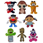 Small 6'' to 8'' 50% Licensed Plush Mix - 180 Count