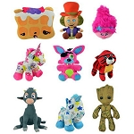 Jumbo 12'' to 16'' 50% Licensed Plush Kit - 75 Count
