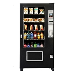 AMS35 Visi Combo 24 Selection Bottle & Cold Food Vending Machine
