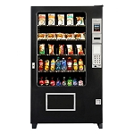 AMS39 Visi Combo 30 Selection Bottle & Cold Food Vending Machine