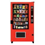 AMS High Security Outsider 5 Wide 40 Selection Snack Vending Machine