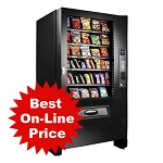 Infinity Series INF5S 5 Wide 40 Selection Snack Vending Machine