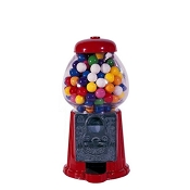 Junior Carousel Antique Style 11-inch Home & Office Gumball Vending Machine