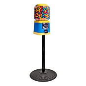 Beaver Southern Barrel Head 16-inch Bulk Candy & Gumball Vending Machine w/Stand