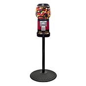 Ultra Classic Gumball Vending Machine w/Secure Locking Cash Drawer and Retro Stand