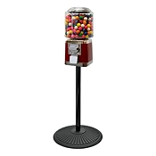 VendPro Classic Barrel Head  (Metal Body) 15-inch Gumball Machine w/Retro Stand