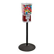 VendPro Classic Square Head (Metal Body) 15-inch Gumball Machine w/Retro Stand