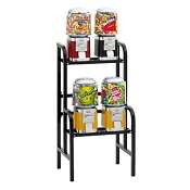 VendPro Classic Barrel Head 4 Unit Candy & Gumball Vending Machine Rack