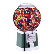 Beaver Large Ball Globe Bulk Candy & Gumball Vending Machine