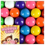 ZED Assorted Fruit Flavored Gumballs / Available in 2 Sizes