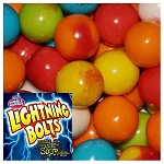 Dubble Bubble Lightning Bolts Bubble Gum (1.0