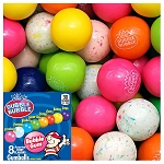 Dubble Bubble Assorted Fruit Flavored Gumballs / Available in 7 Sizes