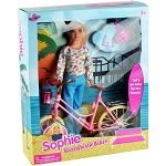 Boardwalk Sophie Doll w/Bicycle - 6 Pieces per Case