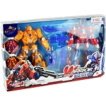 Super Warrior 2 Pack Transformer Set - 6 Sets per Case