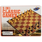 3-in-1 Classic Mini Game Set - 12 Games per Case
