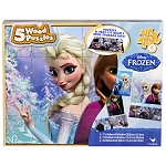 Disney Frozen Wood Puzzles 5-Pack - 6 Sets per Case