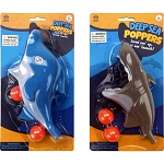 Shark & Dolphin Shooter w/2 Balls - 24 Pieces per Case