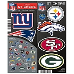 NFL Logo Stickers (In Folders) 300 Count Box