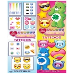 Care-Moji Tattoos (In Folders) 300 Count Box