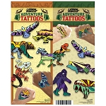 Adventure Series Tattoos (In Folders) 300 Count Box