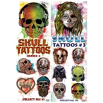 Skull Tattoos - Series 3 (In Folders) 300 Count Box