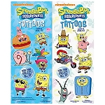 SpongeBob SquarePants Tattoos (In Folders) 300 Count Box