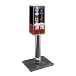 Northern Beaver 26 Flat-Pak Dual Sticker & Tattoo Vending Machine w/Stand