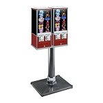 Northern Beaver 26 Dual Head Flat-Pak Sticker & Tattoo Vending Machine w/Stand