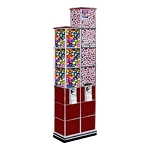 Beaver Twin Tower Bulk Toy Capsule Vending Machine Tower w/Base