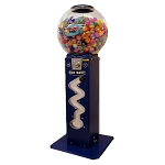 Big Ziggy Zig Zag 45mm-49mm Bounce Balls Vending Machine w/Extra Large Globe