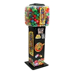 Super Bounce-A-Roo 45mm-49mm Bounce Balls Vending Machine w/Large Globe