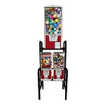 VendPro Triple Play Bounce Balls & Toy Capsule Vending Machine Rack