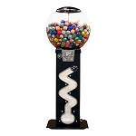 The Viper Zig Zag 45mm-49mm Bounce Balls Vending Machine w/Large Capacity Globe