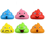 Poop-sters Figurines (Non-Capsulated - Bulk Bin Toys) 300 Count Box