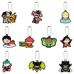 DC Comics Chibi Keychains (Non-Capsulated - Bulk Bin Toys) 200 Count Box