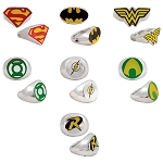 DC Comics Power Rings (Non-Capsulated - Bulk Bin Toys) 300 Count Box