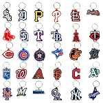 MLB Soft PVC Keychains (Non-Capsulated Bulk Toys) 300 Count Box