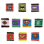 DC Comics Logo Wrist Bands (Non-Capsulated - Bulk Bin Toys) 300 Count Box