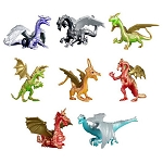 Dragon Figurines (Non-Capsulated - Bulk Bin Toys) 300 Count Box
