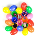 Chicken Egg Toy Mix (Toy Filled Plastic Eggs) 300 Count Box
