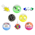 2.75-inch Capsule - Flashing, Glowing & Light-Up Redemption Prize Ball Kit - 144 Count Case