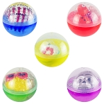 4.0-inch Capsule - Squishy Slow Rise Foam Redemption Prize Ball Kit - 96 Count Case
