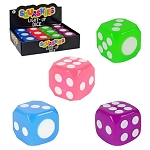 Light-Up 1.25-inch Flashing Dice - 48 Pieces per Case