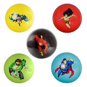 18-inch Inflatable Knobby DC Comics Balls