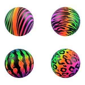 Inflatable Rainbow Printed Patterns Balls