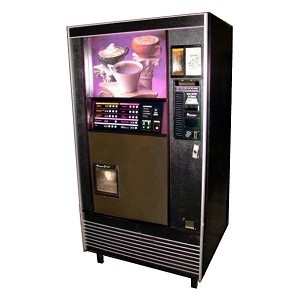AP-213 Factory Refurbished Freeze Dried or Fresh Brew Coffee & Hot Beverage Vending Machine
